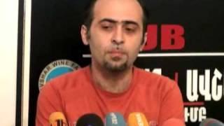 Samvel Martirosyan and Grigor Saghyan about hakers