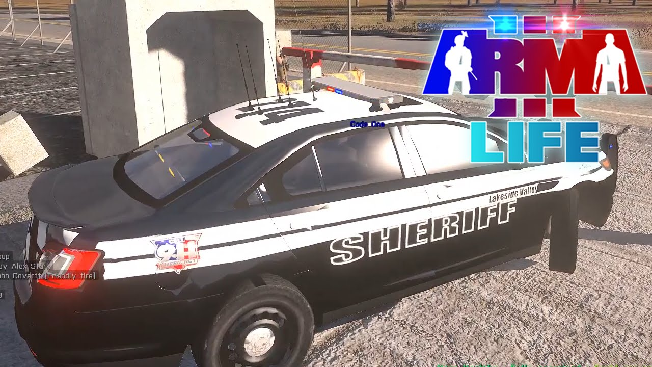 Arma 3 Life Police #5 - Armed Suspect Pursuit and Deputy Kidnapping
