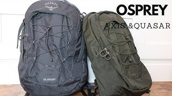 2019 Osprey Quasar & Axis Big And Little Brother of Everyday Carry (EDC) Backpacks