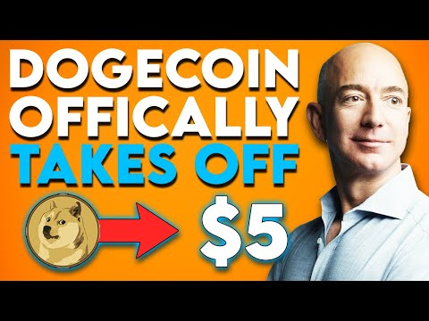 DOGECOIN TO $5! DOGECOIN IS FINALLY SET TO BLOW AS JEFF BEZOS AND ELON MUSK TEAM UP... 🚀