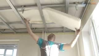видео Отличная звукоизоляция потолка в квартире под гипсокартон