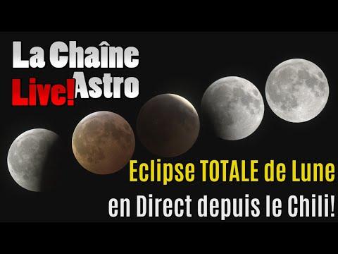 LIVE éclipse TOTALE