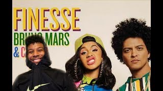 Bruno Mars - Finesse (Remix) Feat. Cardi B (Reaction/Review) #Meamda