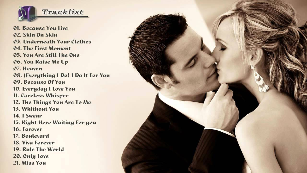 The Best English Love Songs Collection New Love Songs Playlist Youtube