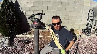 Biggest VACUUM cleaner EVER - How to clean in between rocks!? Toro Rake and Vac Leaf Blower Vacuum