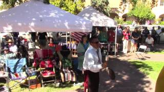 Gourd Dance Honoring Veteran Bernard Duran - Part 4 - Old Town Albuquerque, NM