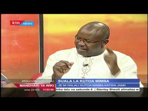 Mandhari ya Wiki: Suala la kutoa Mimba katika Jamii na Paul Nabiswa 24th April 2016 Pt 2