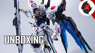 Metal Build Strike Freedom Gundam Model Kit Unboxing & Overview - Gundam Seed Destiny - XGMF-X20A https://www.youtube.