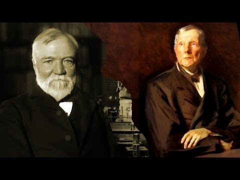 MBA Cases: Andrew Carnegie and John Rockefeller - The Richest men of The Epoch