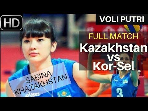 FULL MATCH VOLI PUTRI Korea vs Kazakhstan AVC Asian Volleyball Championship