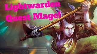 Lightwarden Quest Mage! Brand New Combo! [Hearthstone Game of the Day]