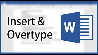 Replace the words: Switching between Insert and Overtype Mode in Microsoft Word