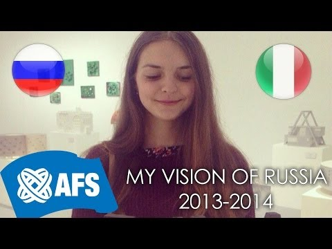 AFS|My vision of Russia|Federica Zingaro (Italy)