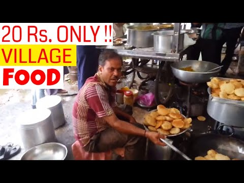 Cheapest Street Food in India - 20 Rs. ONLY !! - Roadside Hotel [Documentary]