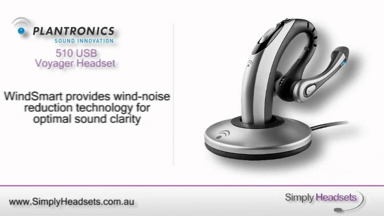 plantronics voyager 510 usb wireless headset system video overview rh youtube com plantronics voyager 510 bluetooth headset pairing Plantronics Voyager Bluetooth Pairing Mode