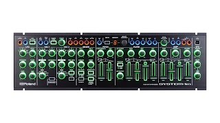Roland System-1m Plug-out Synthesizer Demo by Sweetwater