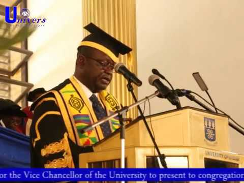 2017 State of the University of Ghana address presented to congregation by Vice Chancellor