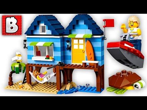 LEGO Beachside Vacation Creator Set 31063 Live Build