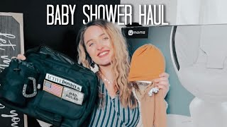 Baby Shower Haul!!! (First Time Mom)