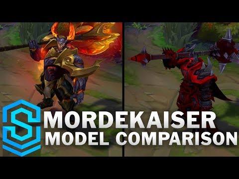 Mordekaiser Rework Vs Pre Rework Comparison Turnaround Youtube