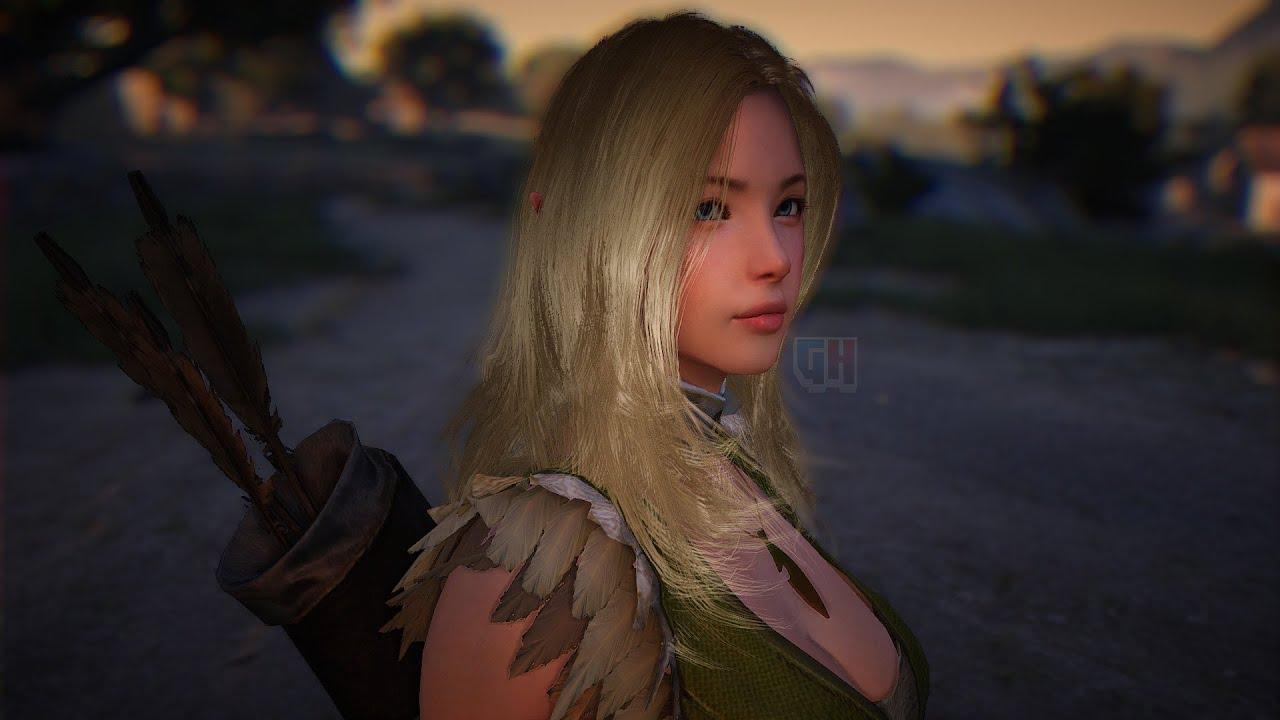 Black Desert Closer Look To Character Details Hd