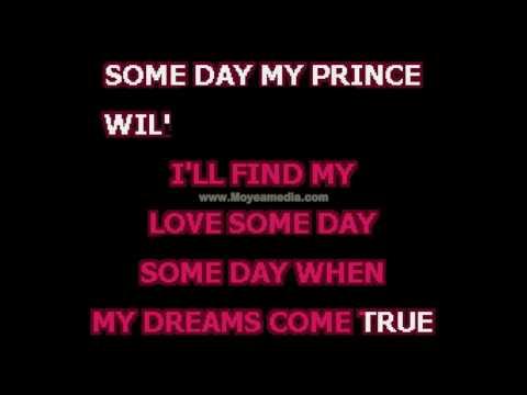 Disney   Someday My Prince Will Come Disney HD Karaoke PK02454