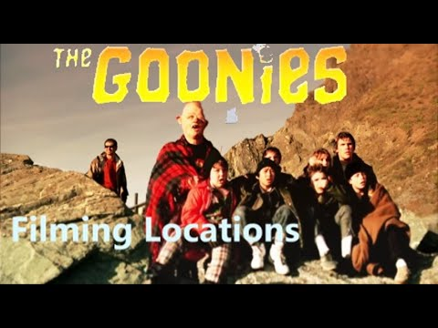 The Goonies 1985 ( FILMING LOCATION then and now)  Steven Sp