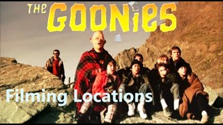 The Goonies 1985 ( FILMING LOCATION Then And Now)  Steven Spielberg