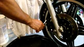 Motorcycle Brake Bleeding Made Easy - How To