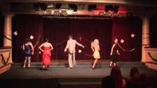 Танец базового курса - 6 чувств