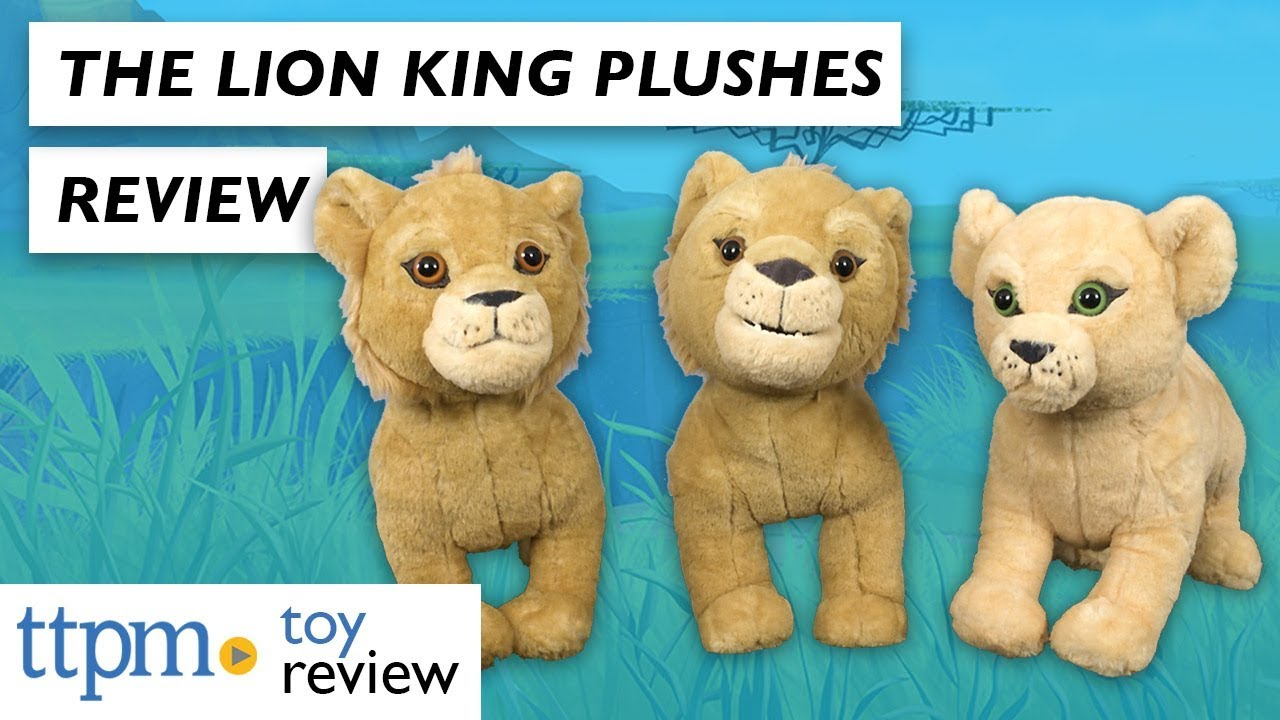 Disney The Lion King Roaring Simba Nala And Simba From Just Play