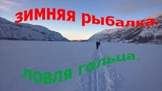 Зимняя рыбалка 14-ого февраля 2016. Мурманская обл. озеро Дикое..
