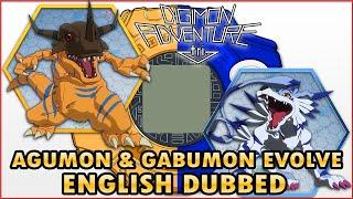Digimon Adventure TRI. Agumon & Gabumon Dual Evolution  ENGLISH DUBBED (AjiPro)