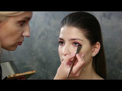 Техника макияжа смоки айс / Smoky Eyes для карих глаз в коричневых тонах | MAKEUPGRIM