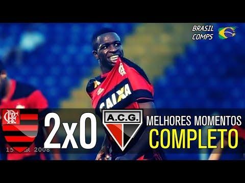 Flamengo 2 x 0 Atlético GO | Melhores Momentos | Brasileirão 19/08/2017