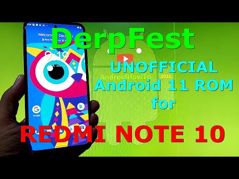 DerpFest ROM for Redmi Note 10 ( Mojito ) Android 11