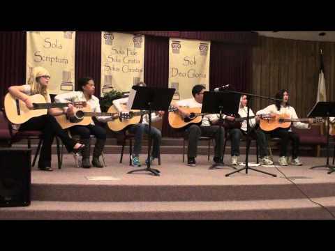 SBFA Talent Show 2013 - Guitar Ensemble