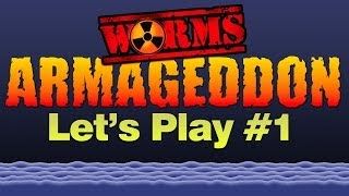 Worms Armageddon #1 (PC) - Hepodix Plays!