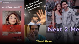 Shaadi Spacial Armaan Malik   Aashna Shroff Next 2 Me   Wait For End?