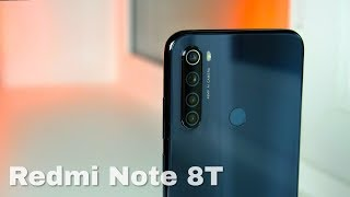 Review Xiaomi Redmi Note 8T ⚡ Budget smartphone with NFC!