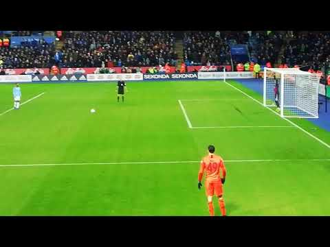 Sterling's sh*t fail of a panenka Leicester Vs Manchester city penalty shootout
