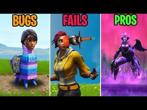 Ridiculous LLAMA BUG! BUGS vs FAILS vs PROS! Fortnite Funny Moments 291