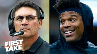 The Panthers should fire Ron Rivera before moving on from Cam Newton - Max Kellerman | First Take