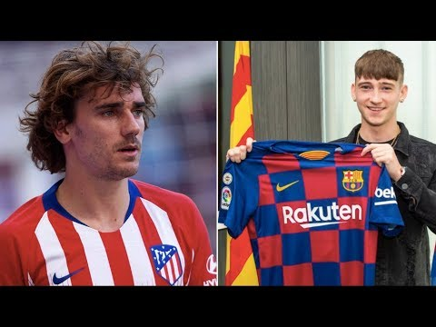Barcelona News Round-up ft Griezmann & New Signing Louie Barry