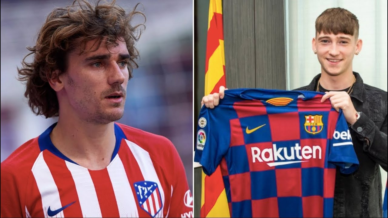 Barcelona News Round-up ft Griezmann & New Signing Louie ...