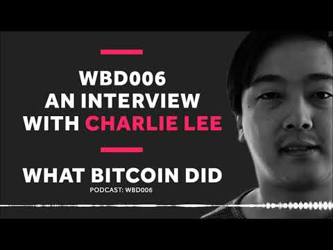 WBD 006 - Interview with Charlie Lee