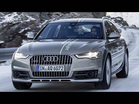 2017 audi a6 allroad quattro test drive youtube. Black Bedroom Furniture Sets. Home Design Ideas