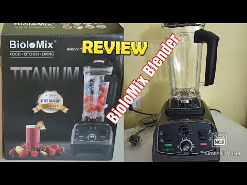 BioloMix Blender #review# with gry jar/unboxing Blender/ professional quality from AliExpress