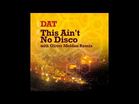 DAT - This Aint No Disco - HOPE RECORDINGS