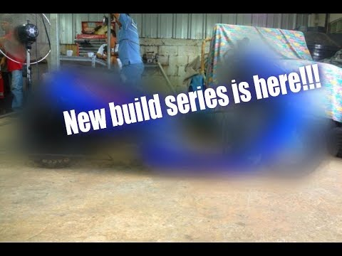 New build series is here  -ep-1  drag scooter
